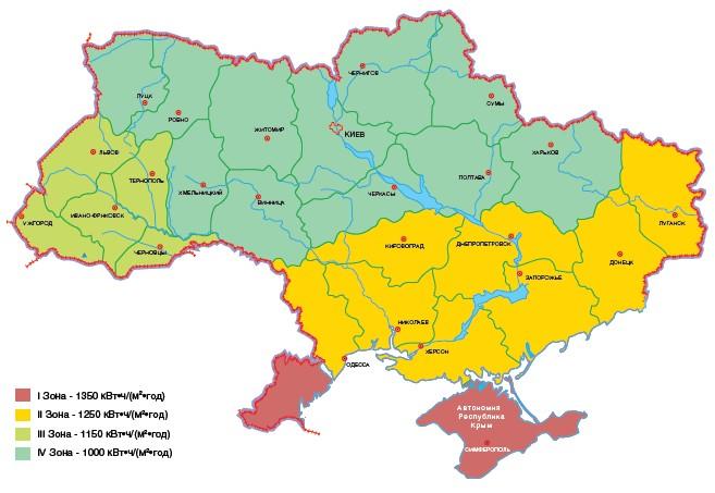 Солнечная энергия Украины