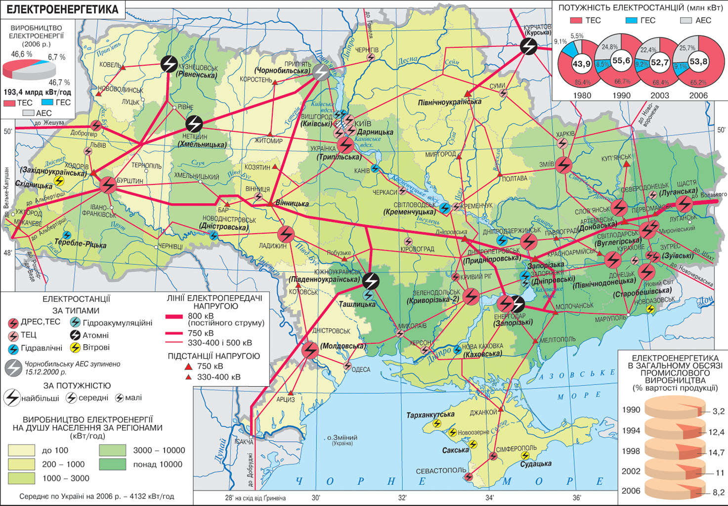 karta-elektrostanciy-ukrainu