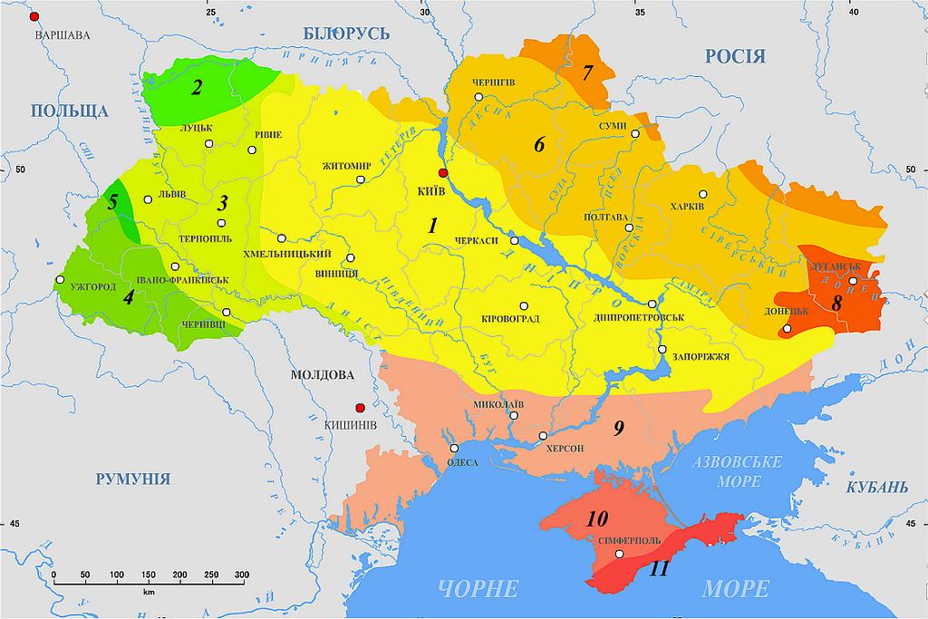 Геологическая карта Украины